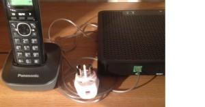 Trådlös telefon router